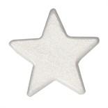 Silver Lustre Sugar Star