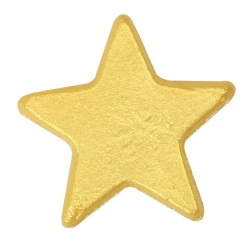 Gold Lustre Sugar Star