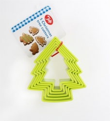 Tala Christmas Tree Cutters - Set of 5