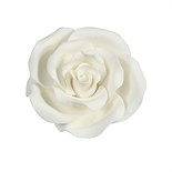 Edible White Rose 38mm