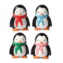 Plastic Penguin Friends Figurines