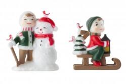 Plastic Snow Children