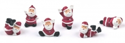 assorted santa on pics