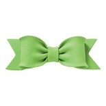 Gumpaste Bows - Single Pastel Green