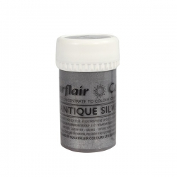Paste Colours 25g - Antique Silver