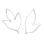 Culpitt Peony Leaf Large Cutter 2 pieces