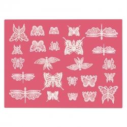 Claire Bowman Butterfly Mat