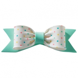Gum Paste Spotty Bow