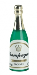 Plastic Champagne Bottle - 55mm