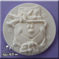 Alphabet Moulds - Snowman