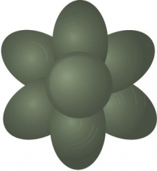 Paste Colours - Foliage Green Extra 42g