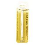 Double Sided Cake Decorators Food Pen - Dark Gold