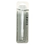 Double Sided Cake Decorators Food Pen - Silver Grey