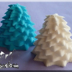 Alphabet Moulds - 3D Tree