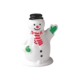 Plastic Waving Snowman