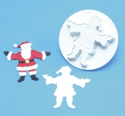 PME Father Christmas Embossed Cutter