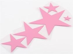 Baby Pink Flower Paste Star