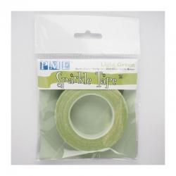 PME light green sparkle tape
