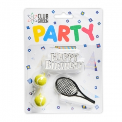 Tennis Happy Birthday set