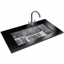Kubus KBX 160 55 -20 Stainless Steel Sink