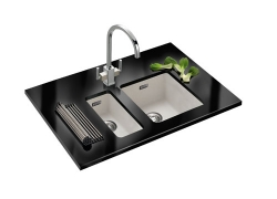 Kubus KBX 110 16 + KBG 110 34 Fragranite Sink
