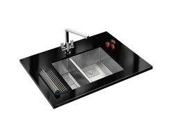Peak PKX 160 34 - 18 Stainless Steel Sink