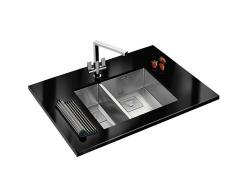 Peak PKX 160 34 - 18 Stainless Steel Sink
