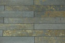 Strip Cladding Calibrated Cleft Slate Multi-Coloured