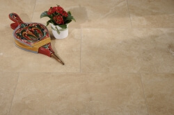Medium Travertine Honed and Filled selected grade