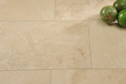 Light Travertine Honed and Filled selected grade