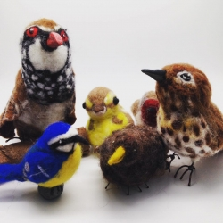 Needle Felted Birds Workshop SOLD OUT