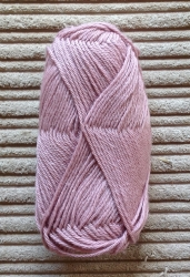 Alpaca/Silk mix 50g ball - Blush Pink