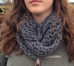 Bridget Cowl in Storm & Sparkle