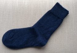 Alpaca Socks Navy 12.5-3.5