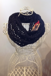 Bridget Cowl in Jet & Hector Chunky
