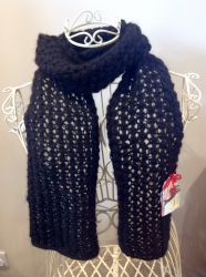 Lacy Scarf in Swift SOLD