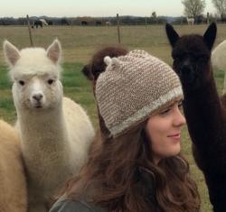 Snowlynn Hat in Charity & Nettle