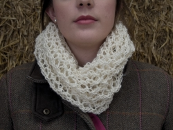 Bridget Cowl in Angel - NEW FOR 2017