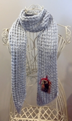 Jessica Scarf in Chunky Cassie Mix
