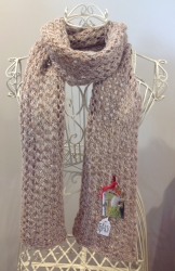 Lacy Scarf in Golden Wonder & Butterfly