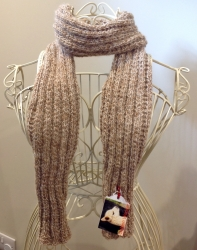 Cromer Scarf in Golden Wonder & Butterfly