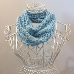 Bridget Cowl in Duck Egg