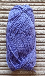 Alpaca/Silk mix 50g ball - Bluebell