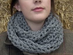 Bridget Cowl in Outlaw, Jet & Hector blend - NEW FOR 2017