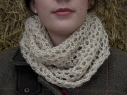 Bridget Cowl in Apricot & Chase - NEW FOR 2017