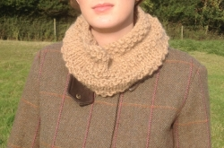 Padstow Cowl in Chunky Thea