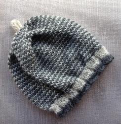 Snowlynne Hat in Clementine&Persia & Nettle