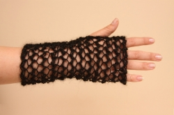 Lacy Long Fingerless Gloves in Destiny