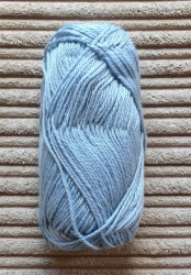 Alpaca/Silk mix 50g ball - China Blue