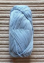 Alpaca/Silk mix 50g ball - China Blue